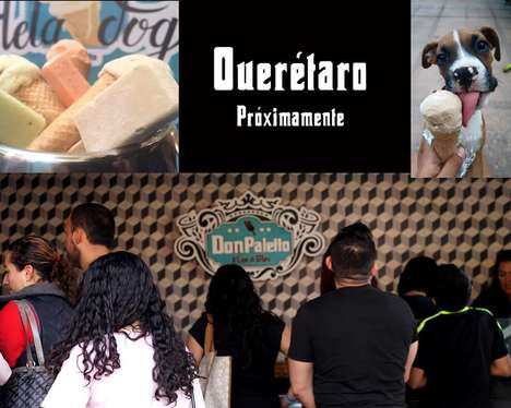 Dog-Friendly Ice Cream Parlors - Don Paletto Makes Frozen Treats for Sharing with One's Pooch