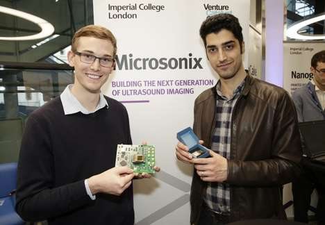 Digestible Ultrasound Devices - These Students are Creating a Chip for Imaging That Can Be Swallowed