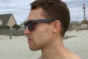 Upcycled Skateboard Sunglasses
