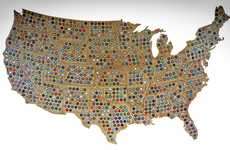 Interconnecting Bottle Cap Maps