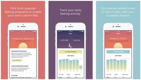 Fasting Tracker Apps - The Zero App Aims to Help People Fast to Enhance Their Productivity