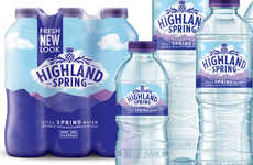 Geographical Water Bottle Branding - The Highland Spring Waters Branding Speaks of Brand History