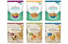Free-From Snack Crackers - The Crunchmaster Cracker Snacks Come in Two Healthy Options