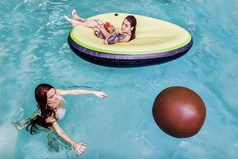 Millennial-Themed Pool Floats