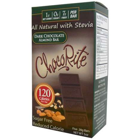 Stevia-Sweetened Chocolate Bars