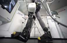 Auto-Inspired Robotic Leg Braces