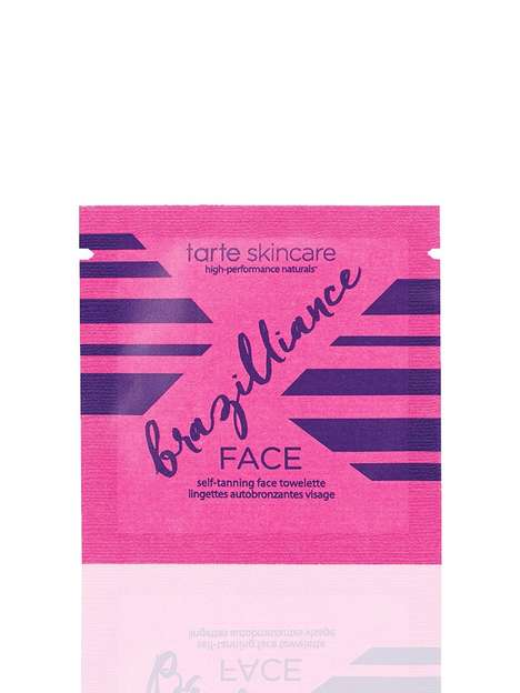 Self-Tanning Face Wipes - Tarte Cosmetics' Tanning Towelettes Nourish and Add a Glow to the Skin