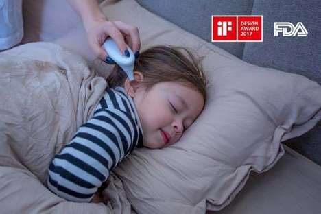 Treatment-Suggesting Thermometers - The 'Earmo' Ear Thermometers Take Readings in One Second Flat