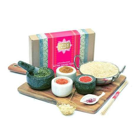 Indian Cuisine Kits - SpiceCraft Boxes Supply Everything Needed to Make Indian Butter Chicken