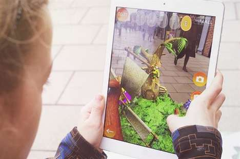 AR Easter Egg Games - British Land Launched a Virtual Easter Egg Hunt Game