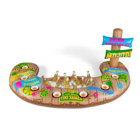 Tiki Bar Pool Toys