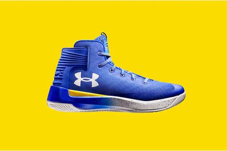 Sleek Electric Blue Sneakers