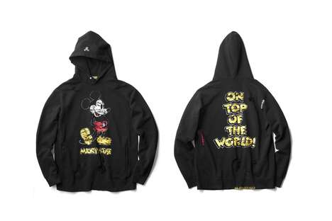 Modernized Disney Streetwear - mastermind HOMME & Disney Joined to Make a Line of Exclusive Apparel