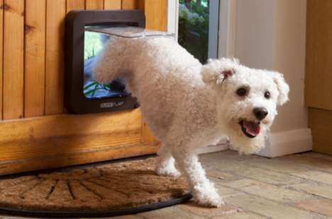 Smart Pet Doors - SureFlap's Door for Pets Can Be Controlled by a Smartphone