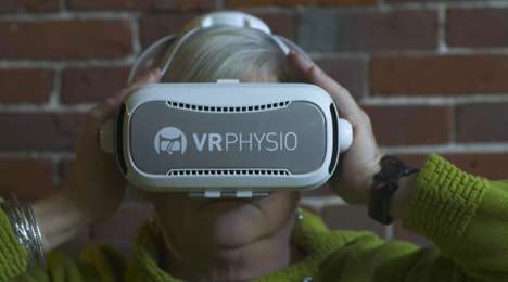 VR Physical Therapies - 'VRPhysio' Makes Rehabilitation Accessible Through Virtual Therapy