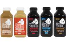 Lightly Flavored Cold Brews - Secret Squirrel's Bottled Cold Brew Coffee Boasts Unique Flavors