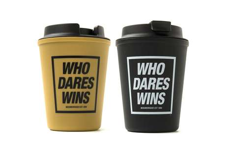 Dual-Purpose Modern Takeout Cups