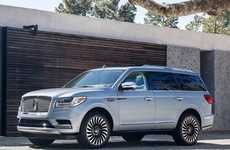 Automaker Personal Driver Programs - Lincoln Chauffeur Lets Owners Request A Private Driver Via App