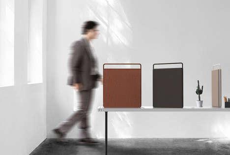 Shifting Divider Desks