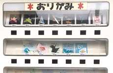 Origami Vending Machines - These Japanese Vending Machines Mark Cultural Celebrations