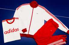 Celebratory Tracksuit Collections - adidas Revitalized the Beckenbauer Tracksuit for Its Anniversary