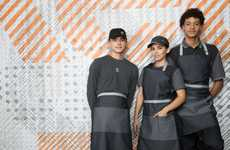 Adaptable QSR Uniforms - McDonald's New Fast Food Uniforms Were Created by Fashion Designers