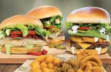 Foodie-Satisfying Diner Menus - The Johnny Rockets Spring Menu Features Artisan Creations
