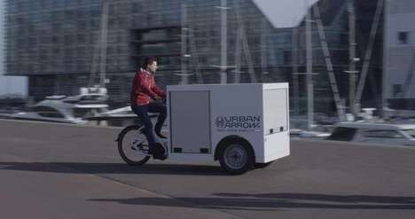 E-Cargo Delivery Trikes - Urban Arrow's Delivery Vehicles Have the Potential to Replace Trucks