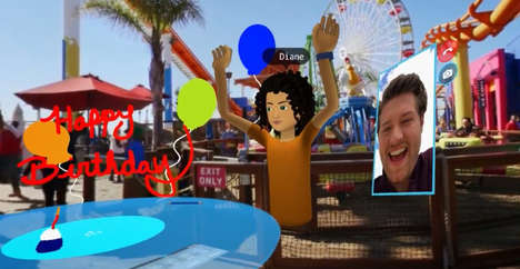 VR Social Networks - Facebook Spaces Lets You Hang Out with Friends Anywhere in the World