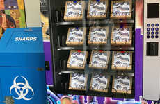 Syringe Vending Machines - Las Vegas Aims to Make Clean Needles Easily Accessible for Drug Users