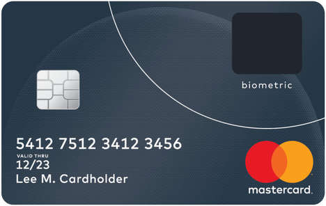Biometric Credit Cards - Mastercard is Trialing a Thumbprint Credit Card for Added Security
