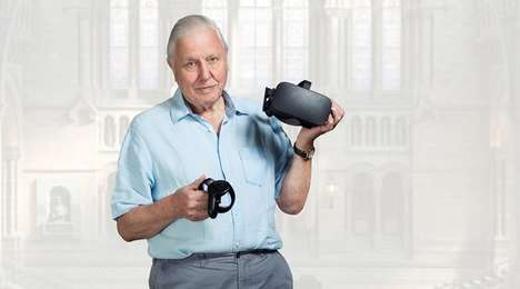 Soothing Natural History Experiences - 'Hold the World' is a VR Program Hosted by David Attenborough