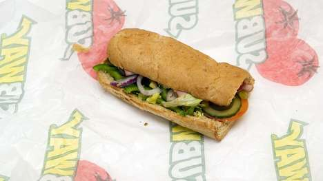 Social Sandwich Payment Options - Subway Can Now Be Purchased with Mastercard's Masterpass