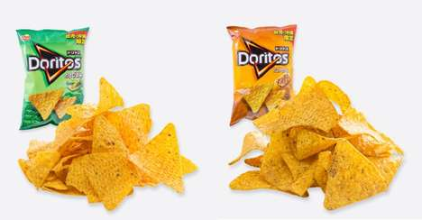 Asian Flavor Tortillas - These New Doritos Tortilla Chips are Available in Taiwan and Japan Only