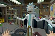 Virtual Reality Sci-Fi Cartoons - Rick and Morty: Virtual Rick-ality Offers a Deep Dive in the Show