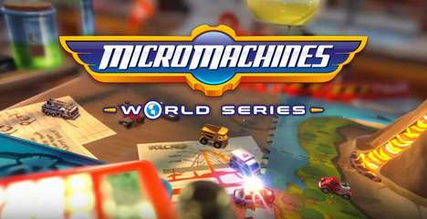 Revamped Demolition Derby Games - 'Micro Machines World Series' is an Update on the Classic 90s Game