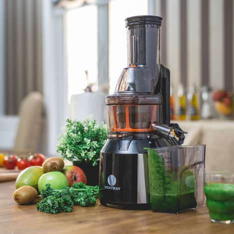Non-Oxidizing Slow Juicers - The Ventray Masticating Juicer Preserves Living Nutrients