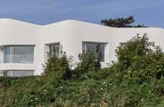 White Cliff Houses - Ness Point House Sits Atop the Famous White Cliffs of Dover
