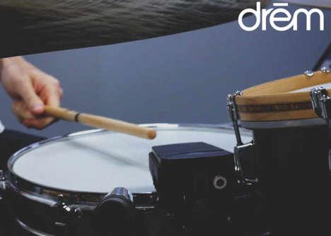 Digital Acoustic Drum Enhancers