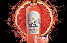 Premium Fruit Juice Vodkas - The Stoli Crushed Fruit-Flavored Vodkas Have Upfront Branding