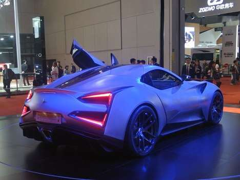 Pricey Titanium Supercars - The One-off Vulcano Titanium Has a Price Tag of $10 Million