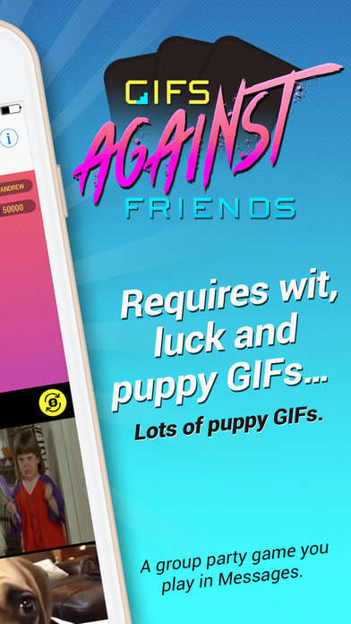 GIFs Against Friends Challenges You to Make the Quickest and Best Reference