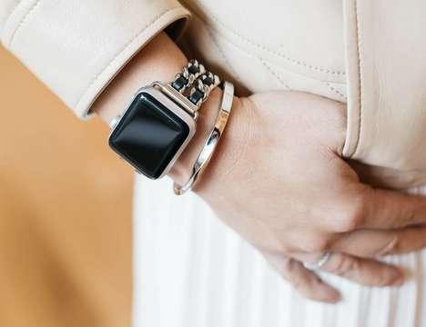 Feminine Smartwatch Jewelry