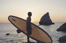 Recycled See-Through Paddle Boards