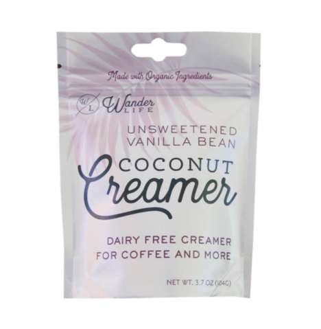 Non-Dairy Coconut Creamers - Wander Life Coconut Creamer Offers an Alternative to Dairy
