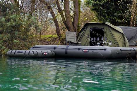 Tented Fishing Boats - The Raptor XL Platform Hybridizes Fishing Trips