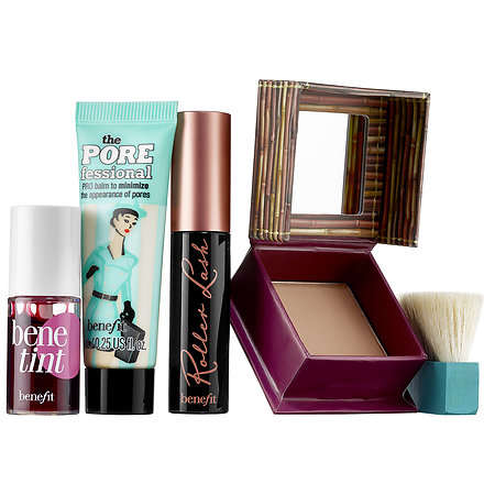 Office-Inspired Makeup Packs - This New Benefit Kit Was Made for Working Women on the Go