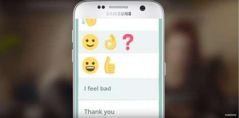 Aphasia-Aiding Emoji Apps
