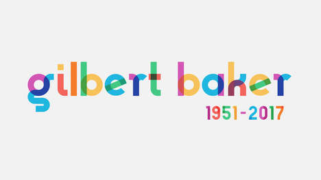 Rainbow Flag Fonts - The Gilbert Font Commemorates the Designer of the Gay Pride Flag