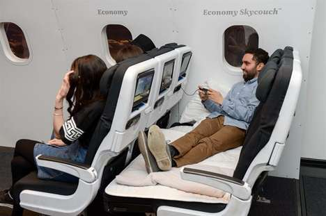 Mock Inflight Pop-Ups - Air New Zealand's Pop-Up Shares a Taste of its Inflight Experience on Land